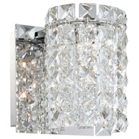 Queen 1 Light 5 inch Chrome Vanity Wall Light