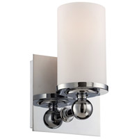 ELK BV2241-10-15 Adam 1 Light 5 inch Chrome Vanity Wall Light