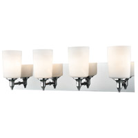 Alton Road 4 Light 25 inch Chrome Vanity Wall Light