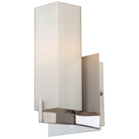 Moderno 1 Light 5 inch Matte Satin Nickel ADA Wall Sconce Wall Light