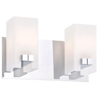 ELK BV3322-10-15 Gemelo 2 Light 11 inch Chrome Vanity Light Wall Light