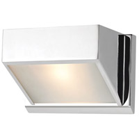 ELK BV351-5-15 Devon 1 Light 7 inch Chrome Vanity Wall Light