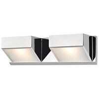 ELK BV352-5-15 Devon 2 Light 16 inch Chrome Vanity Wall Light