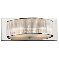 ELK BV361-0-15 Braxton 2 Light 12 inch Chrome Vanity Light Wall Light