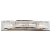 Somerset 4 Light 24 inch Chrome Vanity Wall Light