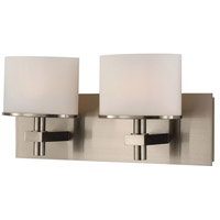 ELK BV512-10-16P Ombra LED 17 inch Satin Nickel Vanity Light Wall Light