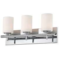ELK BV6033-10-15 Barro 3 Light 19 inch Chrome Vanity Light Wall Light