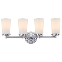 Madison 4 Light 23 inch Chrome Vanity Wall Light