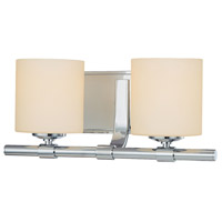 Slide 2 Light 15 inch Chrome Vanity Wall Light
