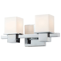 Lexington 2 Light 13 inch Chrome Vanity Wall Light
