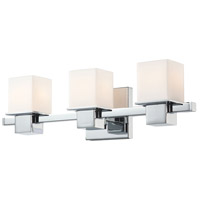 Lexington 3 Light 18 inch Chrome Vanity Wall Light