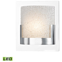 Ophelia LED 6 inch Chrome Vanity Wall Light