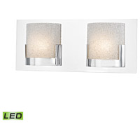 Ophelia LED 15 inch Chrome Vanity Wall Light