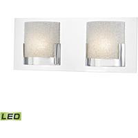 ELK BVL1202-0-15 Ophelia LED 15 inch Chrome Vanity Light Wall Light