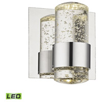 ELK BVL151-0-15 Surrey LED 7 inch Chrome Vanity Light Wall Light
