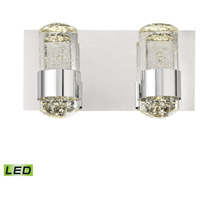 ELK BVL152-0-15 Surrey LED 12 inch Chrome Vanity Light Wall Light