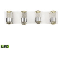 Surrey LED 25 inch Chrome Vanity Wall Light