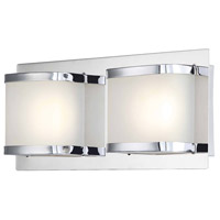 ELK BVL4002-10-15 Bandeaux LED 12 inch Chrome Vanity Wall Light