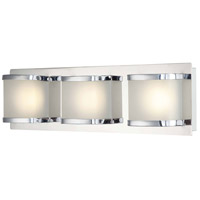 Bandeaux LED 18 inch Chrome Vanity Wall Light
