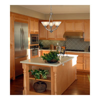 ELK 6501/2 Elysburg 2 Light 31 inch Satin Nickel Island Light Ceiling Light in Standard alternative photo thumbnail