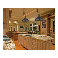 ELK 65150-2-LED Farmhouse LED 44 inch Oiled Bronze Billiard/Island Ceiling Light alternative photo thumbnail