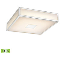 Hampstead LED 9 inch Chrome Flush Mount Ceiling Light