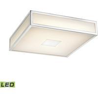 ELK FML4000-10-15 Hampstead LED 9 inch Chrome Flush Mount Ceiling Light