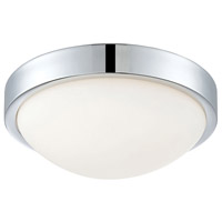 ELK FML401-10-15 Sydney LED 12 inch Chrome Flush Mount Ceiling Light