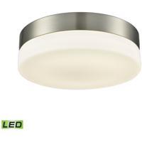 ELK FML4050-10-16M Holmby LED 9 inch Satin Nickel Flush Mount Ceiling Light Medium Round