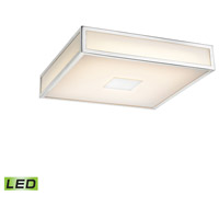 Hampstead LED 12 inch Chrome Flush Mount Ceiling Light