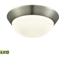 ELK FML7150-10-16M Contours LED 11 inch Satin Nickel Flush Mount Ceiling Light Medium