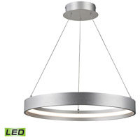 Galleria LED 23 inch Aluminum Pendant Ceiling Light, Small