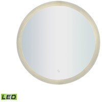 ELK LM3K-2424-BL-RD LED Lighted Mirrors 24 X 24 inch Silver Wall Mirror photo thumbnail