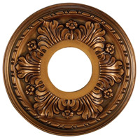 Acanthus Antique Bronze Medallion