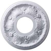 ELK M1000WH Acanthus White Medallion photo thumbnail