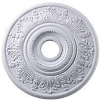 Laureldale White Medallion