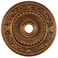 ELK M1006AB Floral Wreath Antique Bronze Medallion