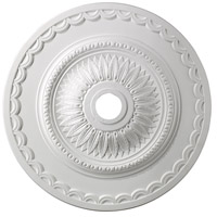 Brookdale White Medallion