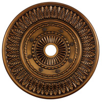 Corinna Antique Bronze Medallion