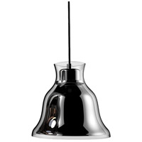 ELK PS8160-15-31 Bolero 1 Light 8 inch Chrome Pendant Ceiling Light