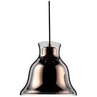 ELK PS8160-89-31 Bolero 1 Light 8 inch Copper Pendant Ceiling Light