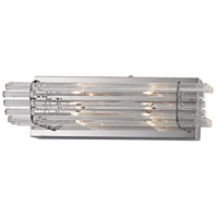 Quebec 2 Light 16 inch Chrome Vanity Light Wall Light