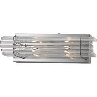 ELK WS702-0-15 Quebec 2 Light 16 inch Chrome Vanity Light Wall Light
