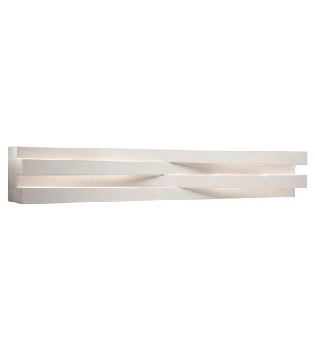 Elan 83115 Massimik 6 Light 36 Inch White Vanity Wall Light