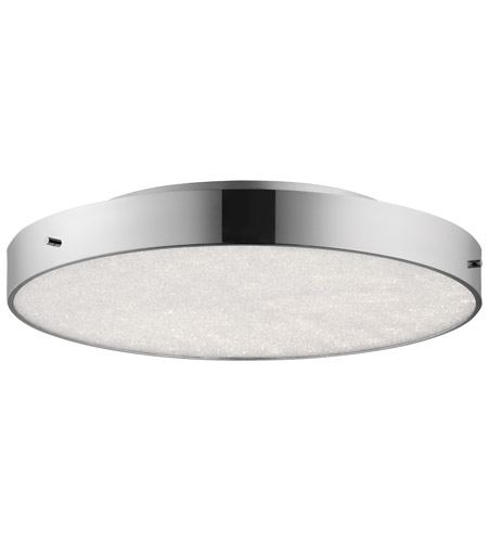 Inch Chrome Flush Mount Ceiling Light
