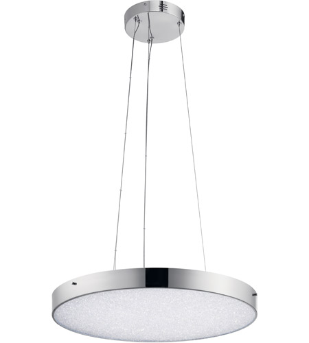Elan 83591 crystal moon led chrome chandelier round pendant ceiling elan 83591 crystal moon led chrome chandelier round pendant ceiling light aloadofball