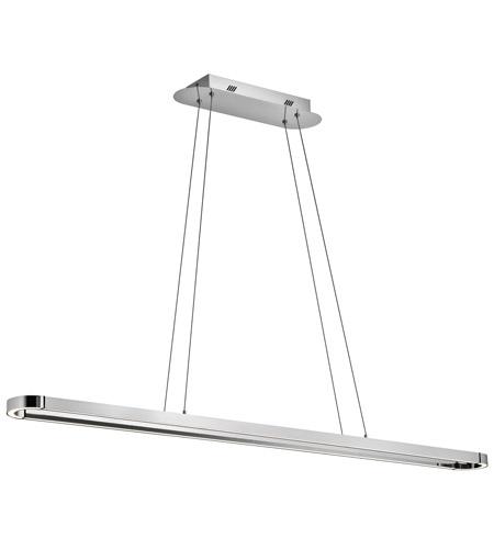 Elan 83598 quell led 5 inch chrome chandelier rectangular pendant elan 83598 quell led 5 inch chrome chandelier rectangular pendant ceiling light aloadofball Gallery
