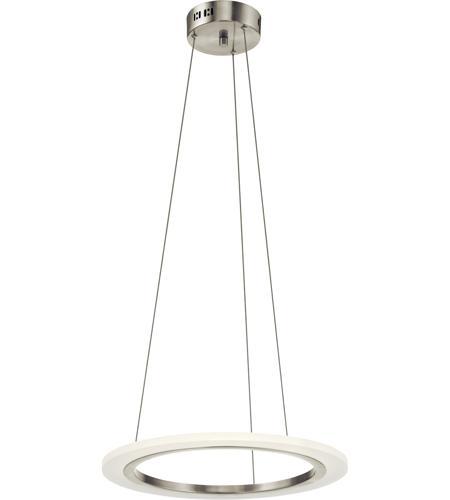 elan hyvo led brushed nickel pendant ceiling light photo - Brushed Nickel Pendant Light