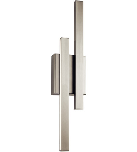elan idril brushed nickel wall sconce wall light photo