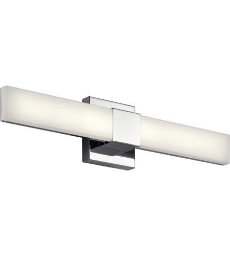Elan 83736 Neltev Led 24 Inch Chrome Vanity Light Wall Light